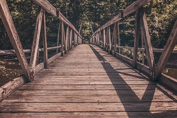 Wooden Bridge Free Photo