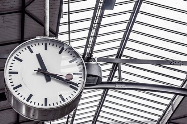 Station Clock Free Photo