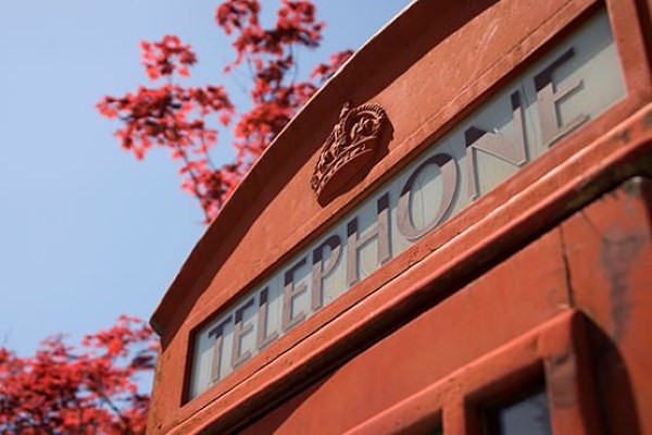 Red London Telephone Box Free Photo