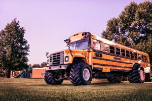 School Monster Truck Free Photo