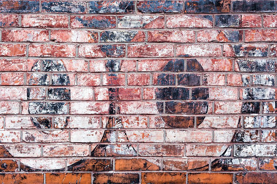 Graffiti on Brick Wall Free Photo