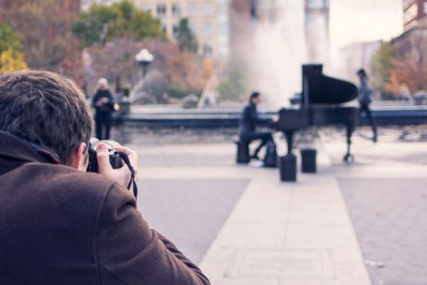 Photographer & Musician Free Photo