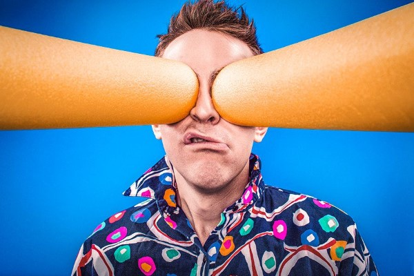 Man With Crazy Eyes Free Photo