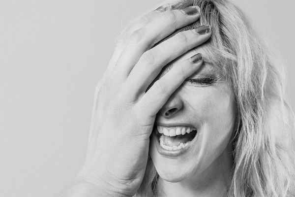 Goofy Woman Portrait Free Photo