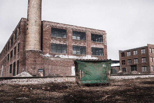 Abandoned Warehouse Free Photo