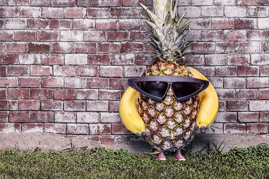 Cool Pineapple Free Photo