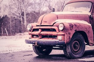 Rusty Classic Truck Free Photo