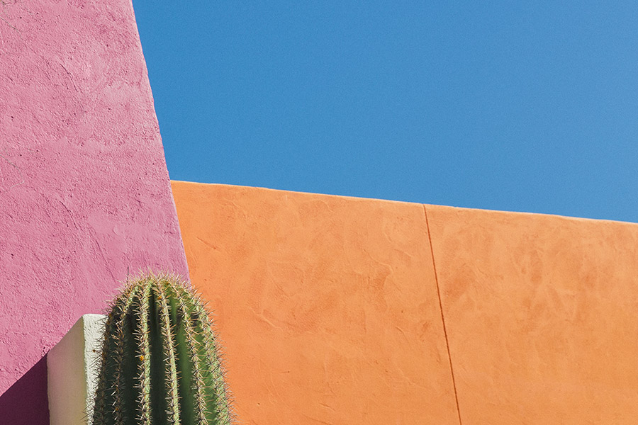 Colorful Walls Free Photo
