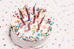 Confetti Cake Free Photo