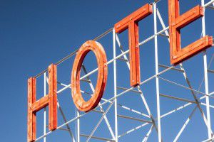 Hotel Sign Free Photo