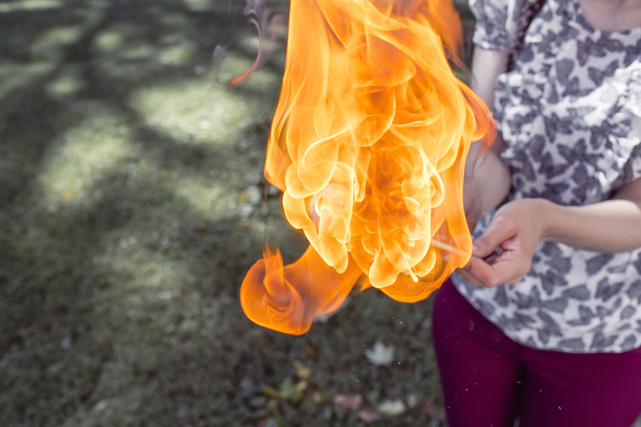 Playing With Fire Free Photo