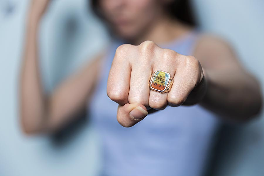 Ring Punch Free Photo
