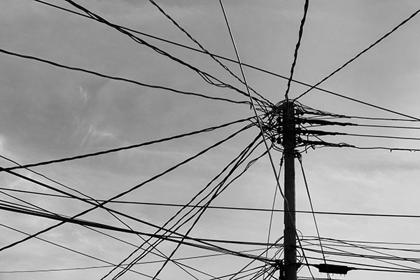 Wire Mess Free Photo