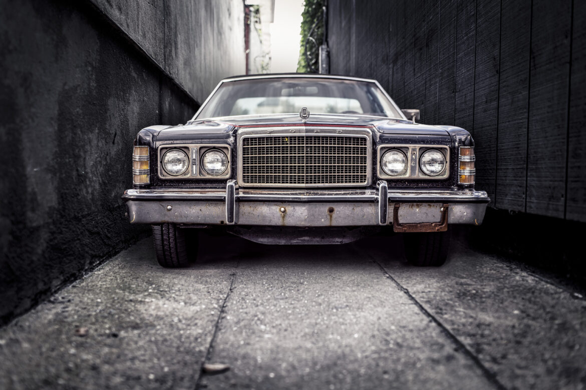 Gangster Car Free Stock Photo