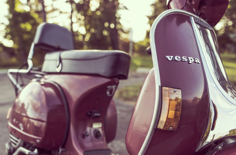 Vespa Scooter Free Stock Photo