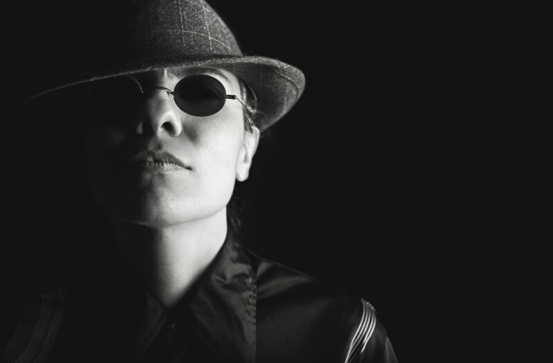 Female Gangster Free Stock Photo