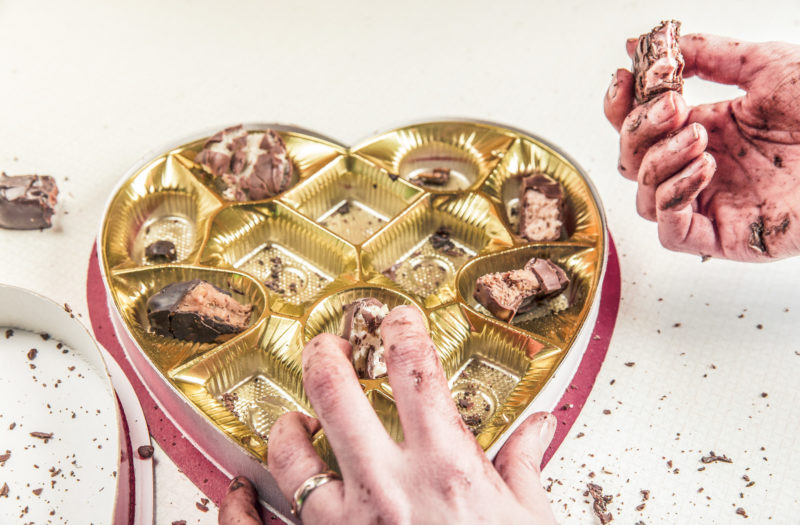 Box of Chocolates Free Stock Photo