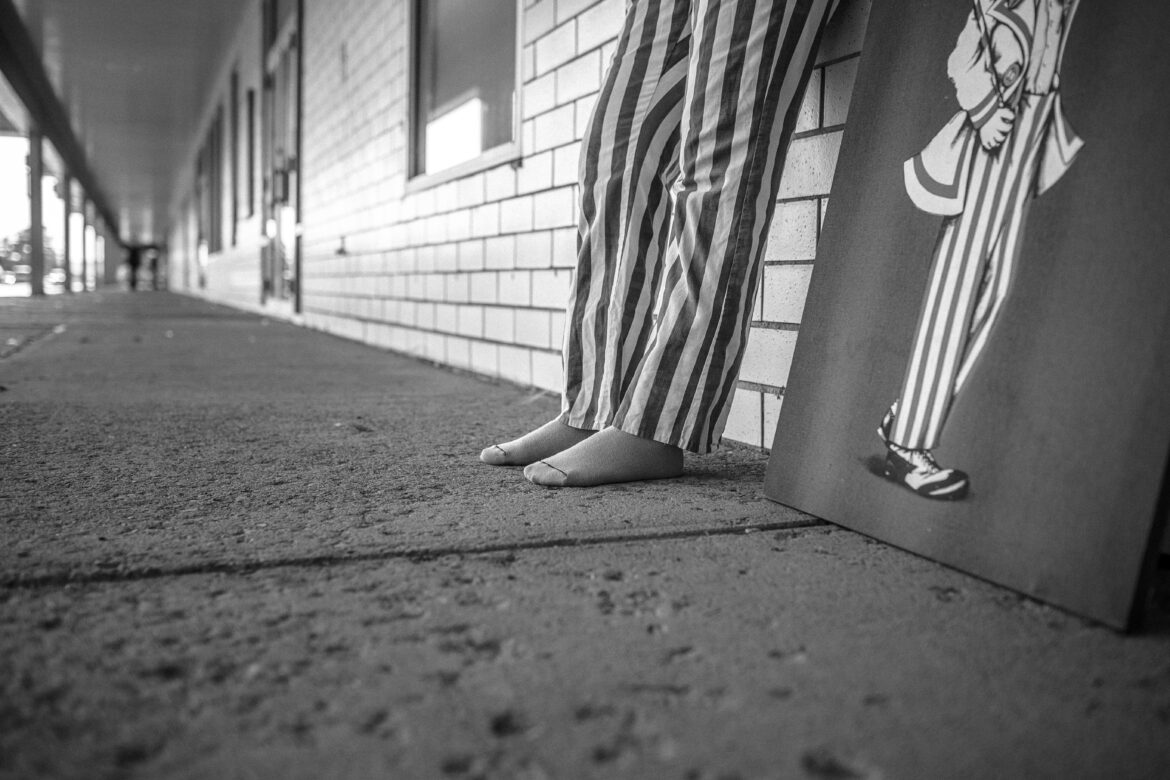 Striped Trousers Free Stock Photo