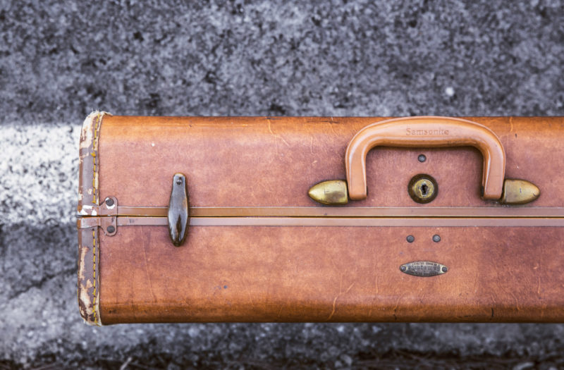 Retro Suitcase Free Photo