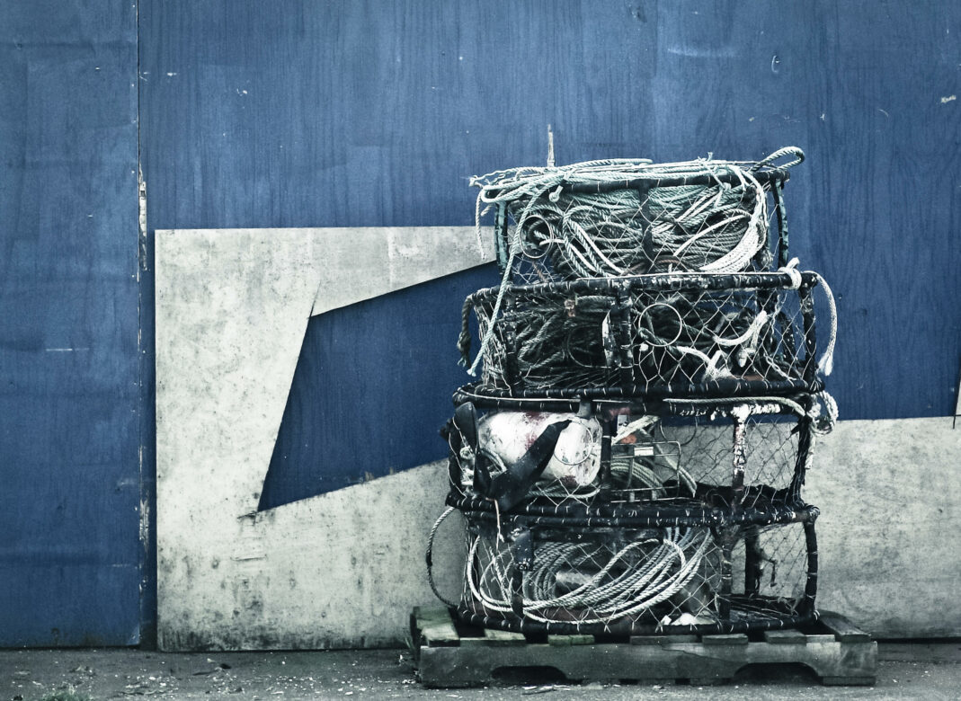 Fishing Cages & Nets Free Stock Photo