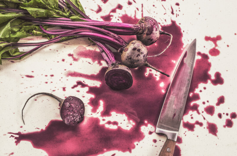 Cutting Vegetables Free Stock Photo