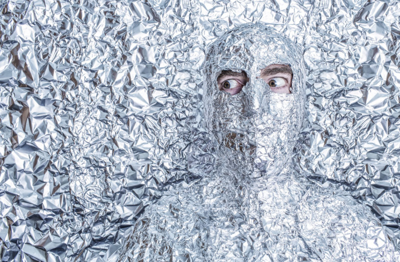 Tinfoil Man Free Photo