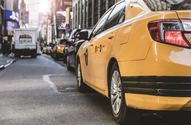 Taxi Cabs Free Stock Photo