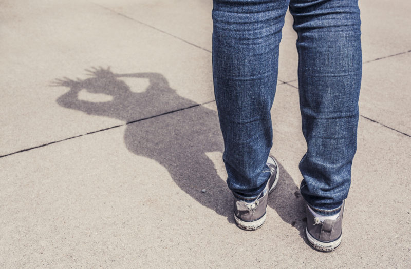 Jeans Reflection Free Photo