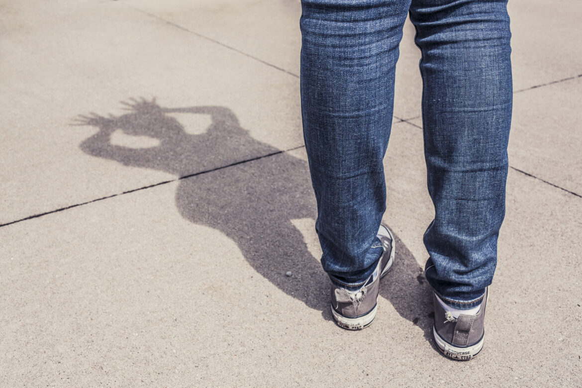 Jeans Reflection Free Stock Photo
