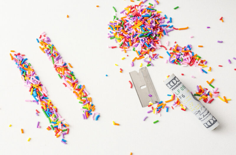 Drugs & Candy Free Stock Photo
