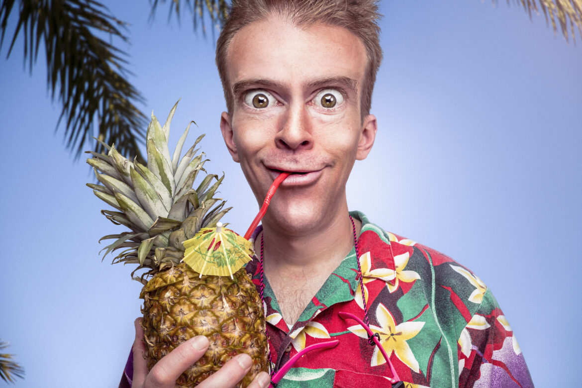 Pineapple Cocktail Free Stock Photo