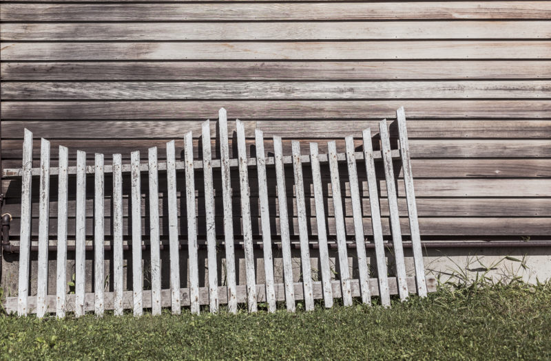 Wooden Fence Free Stock Photo