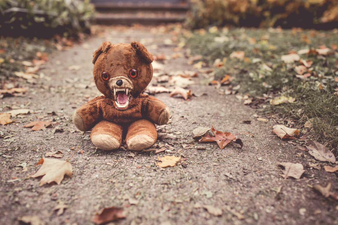 Angry Cuddly Bear Free Stock Photo