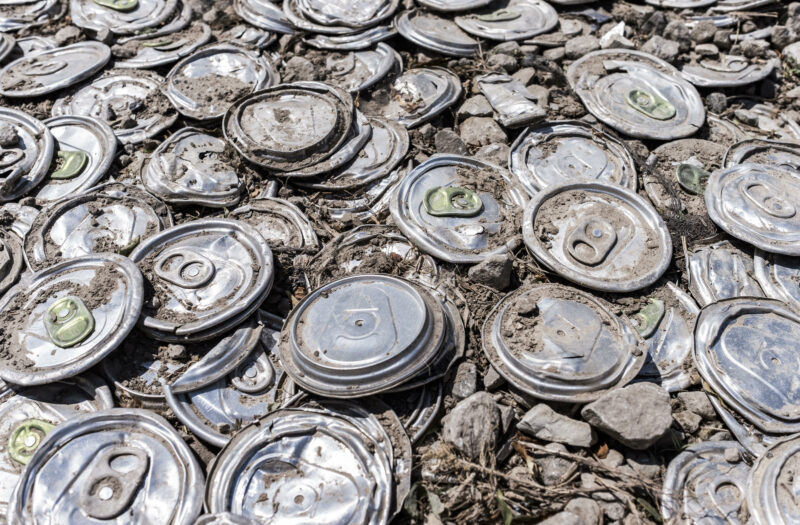 Recycled Cans Free Stock Photo