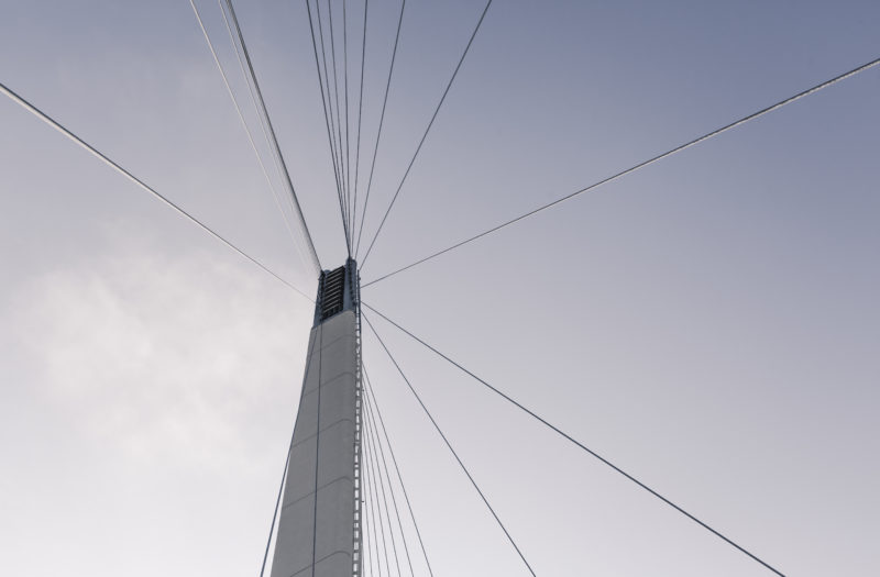 Bridge Cables Architecture Free Stock Photo