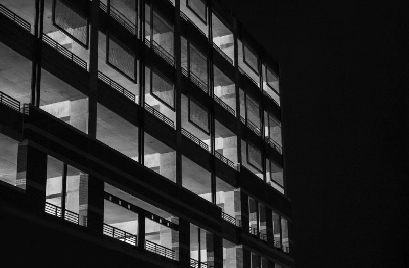 Black & White Modern Architecture Free Photo