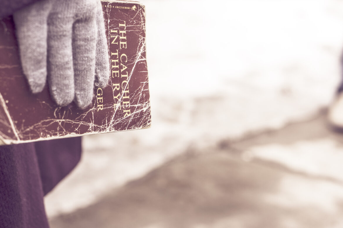 Hand Holding Book Free Stock Photo