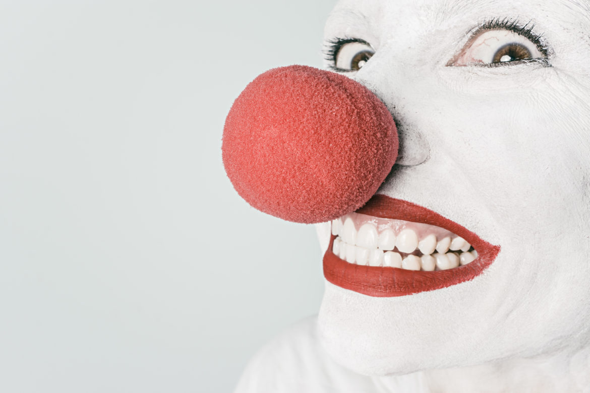 Red Nose Clown Free Photo
