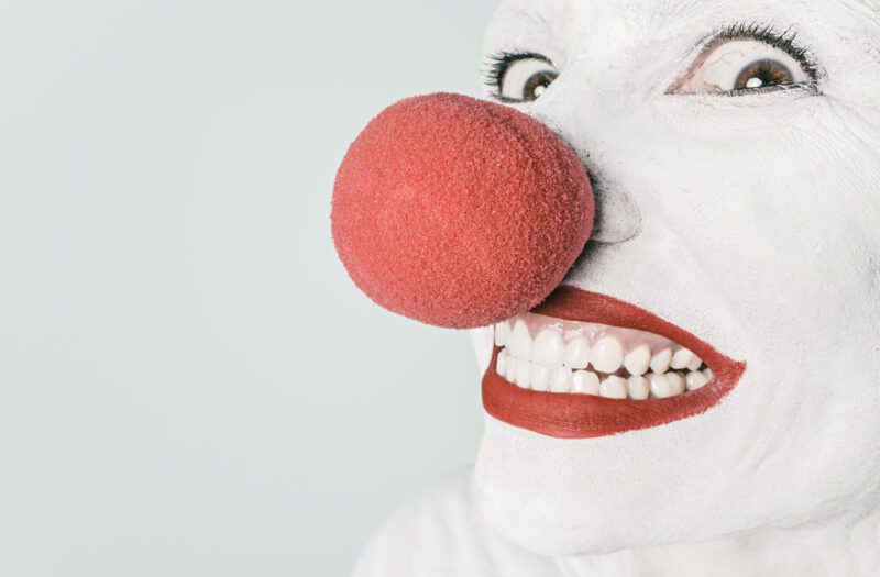 Red Nose Clown Free Stock Photo