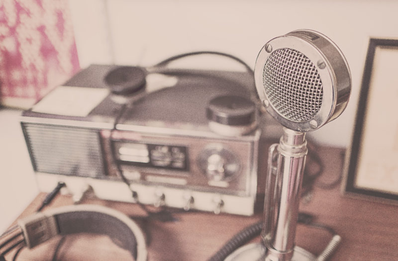 Vintage Microphone Free Photo