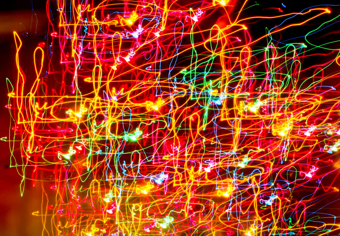 Abstract Bright Lights Free Stock Photo