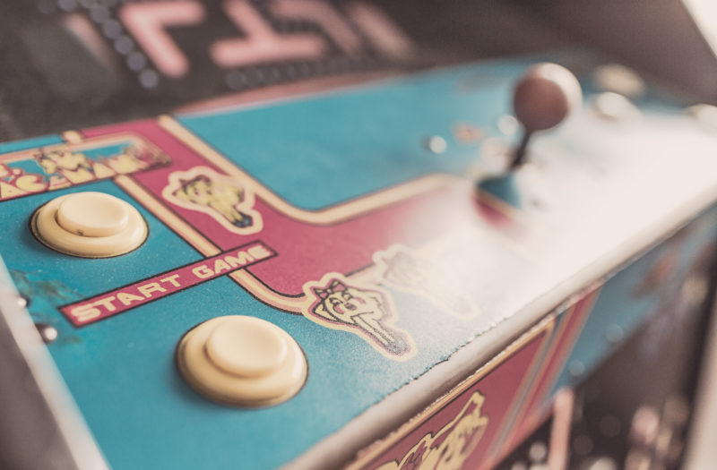 Retro Gaming Free Stock Photo