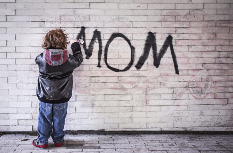 Mother Graffiti Free Photo