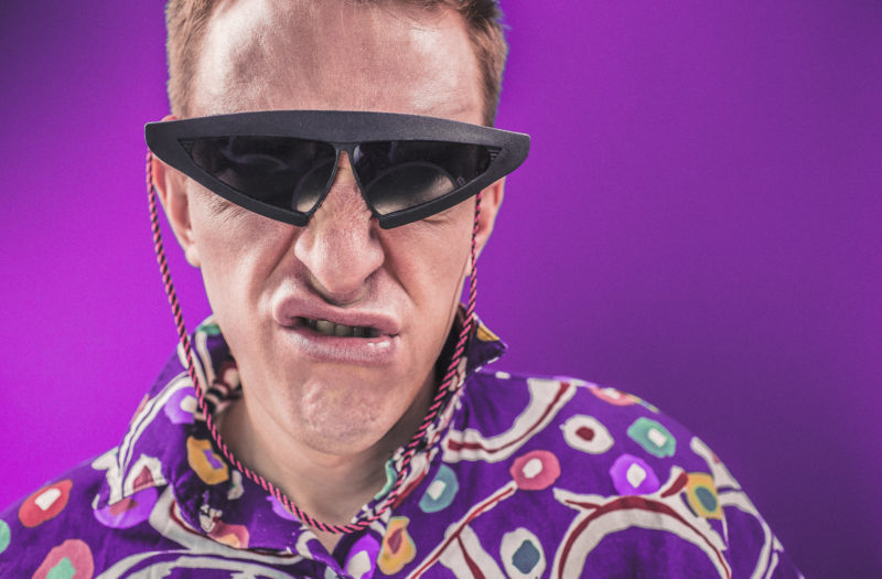 80s Man Free Stock Photo