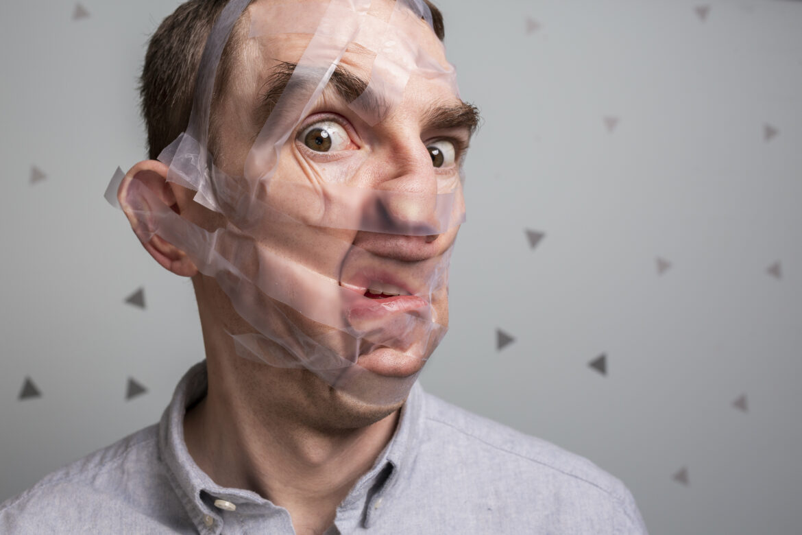 Face Tape Free Stock Photo