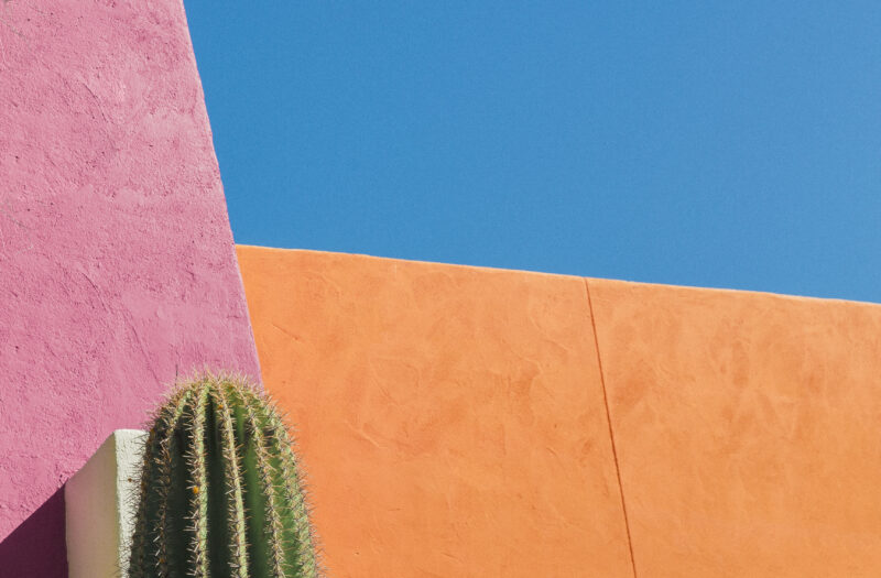 Colorful Walls Free Stock Photo