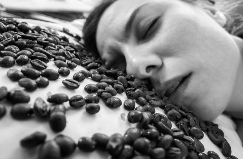 Sleeping Coffee Free Photo
