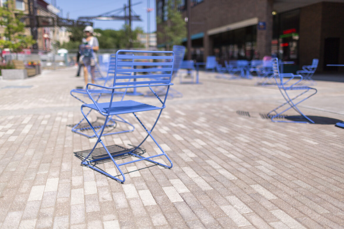 Outdoor Chairs City Free Stock Photo