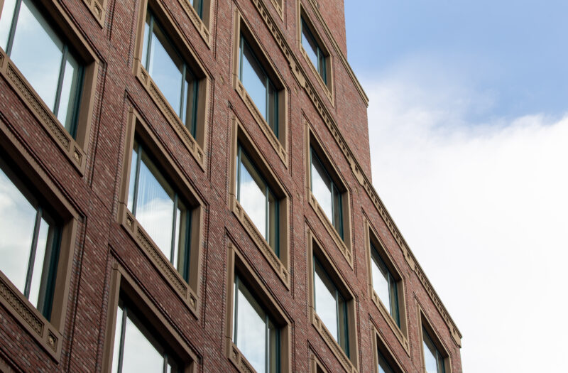 View Building Reflections Free Stock Image