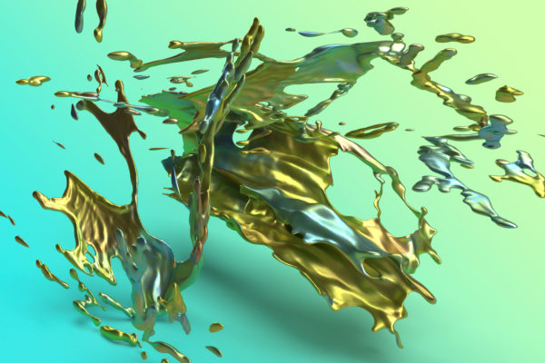 Gold Abstract Background Free Photo